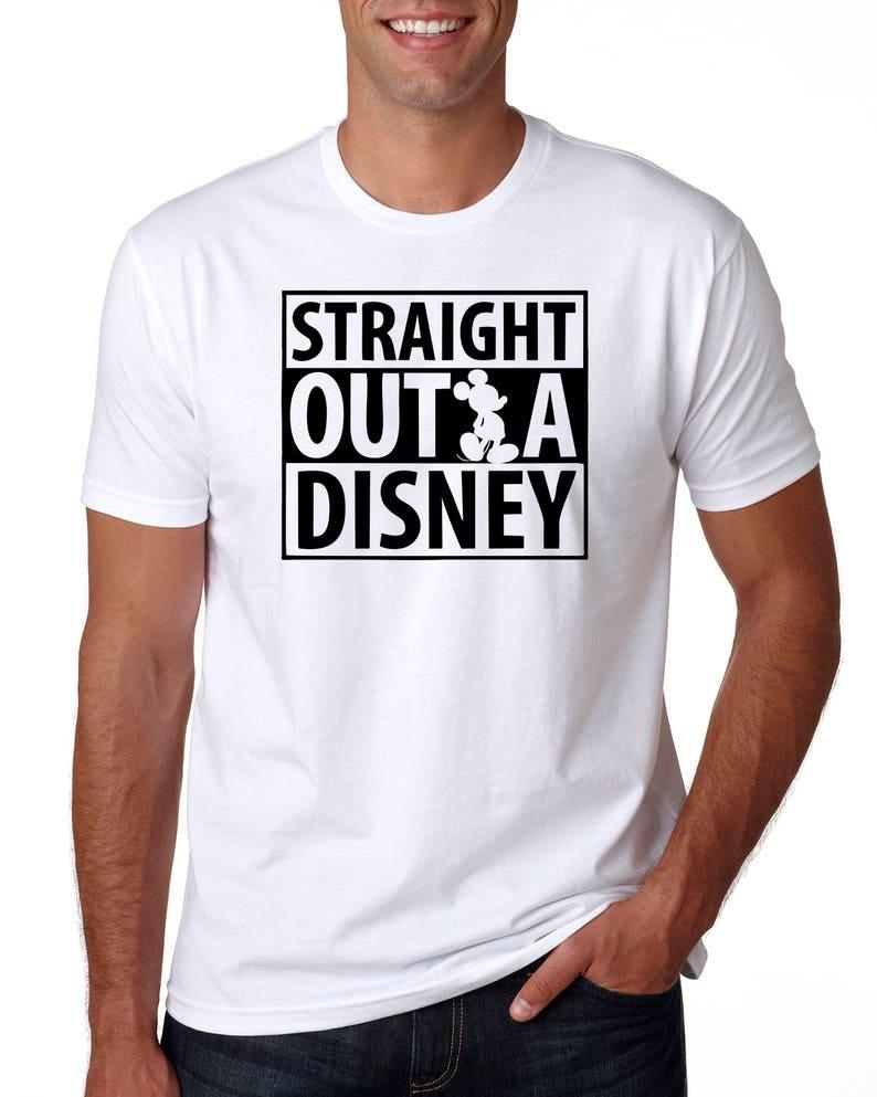 b3c568b80 Straight Outta Disney Funny Disney Shirt Disney Shirt for | Etsy