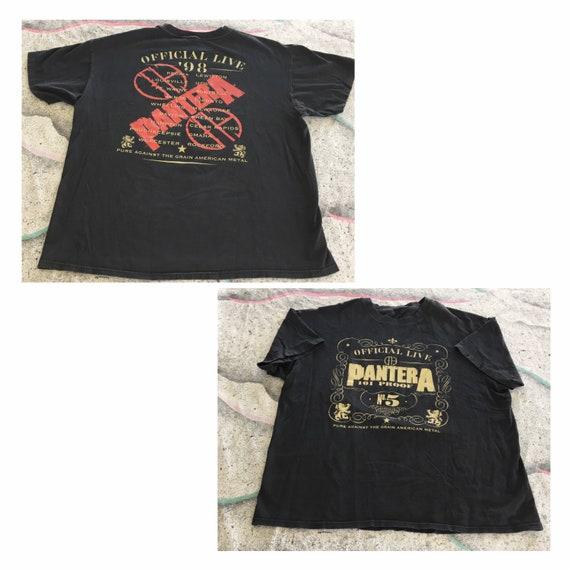 Vintage Pantera Shirt official Concert Tour Size X