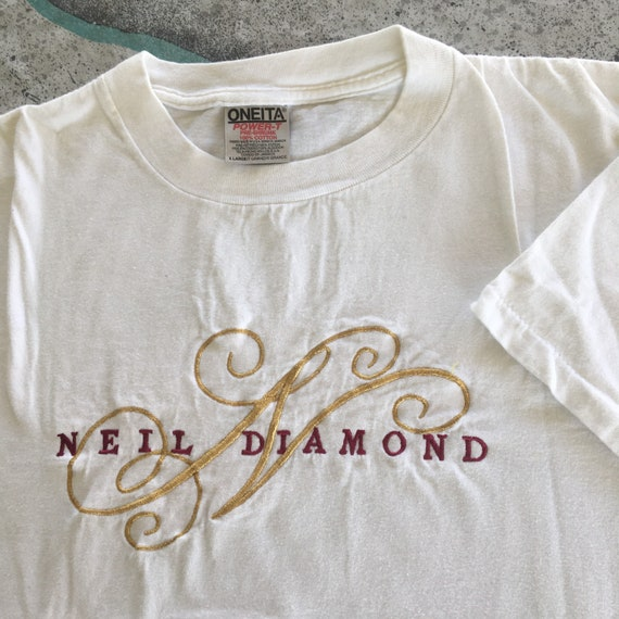 Vintage Neil Diamond Shirt Size XL Oneita Tag