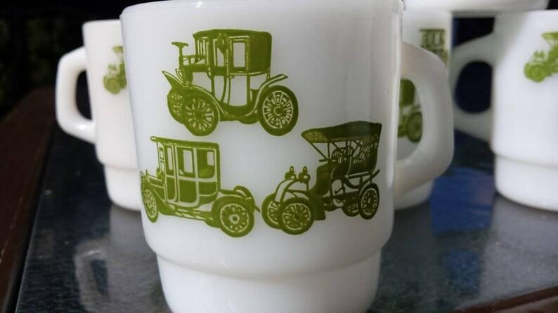 Vintage Fire King Mug Anchor Hocking Ware Antique Classic Etsy
