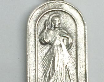 Divine Mercy - Saint Faustina - Double-Sided Medal