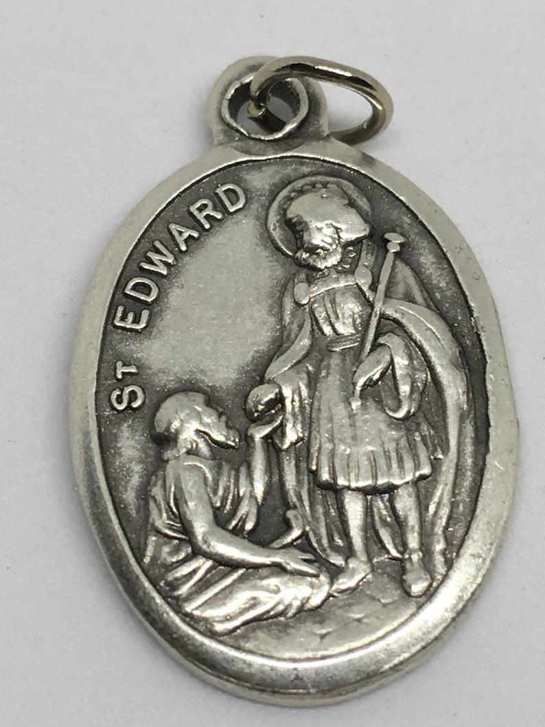 Saint Edward Medal Patron Saint Troubled Marriages | Etsy