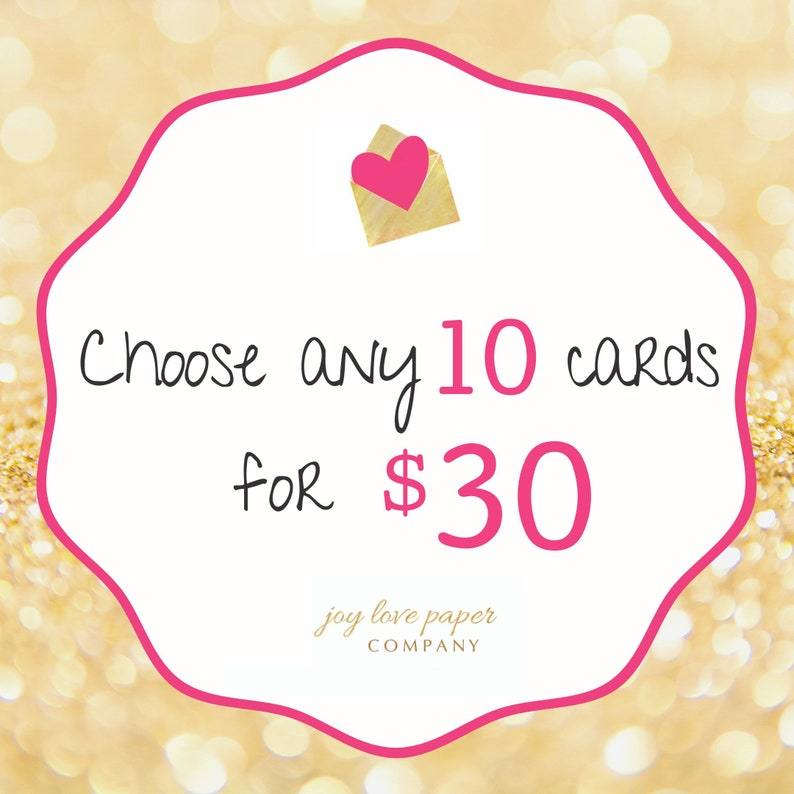 Choose any 10 cards image 0