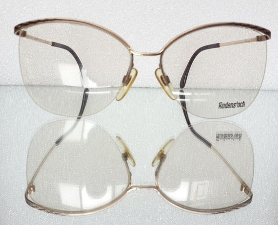 Rodenstock Lady R 805 Gold Eyeglasses Butterfly Me
