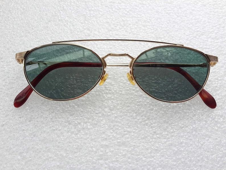 a81d29003 Vintage Albert Nipon Sunglasses Aviator Glasses Gold frames | Etsy