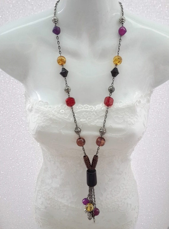 Tassel Jewelry Beaded Pendant Beaded Jewelry pendant Tassel Pendant BeadedTassel Pendant