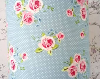 Judy Blue Floral Lampshade