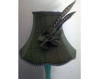 Country and feathers Lampshade