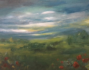 landscape painting, small landscape painting, landscape paintings acrylic landscape small acrylic landscape painting large landscape