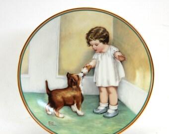 Bessie Pease Gutmann Collector Plate Hamilton Collection 1985
