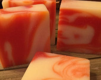 Summer Citrus Soap- All Natural Soap, Handmade Soap, Homemade Soap, Handcrafted Soap