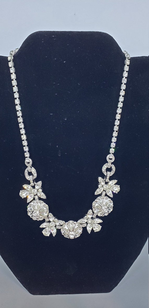 PENNINO 30s/40s Grand Crystal Necklace Amazing!
