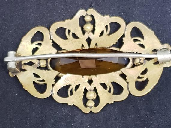 Antique Art Nouveau  Brooch - image 4