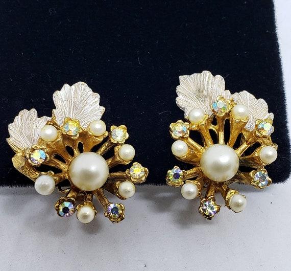 50's/60's B.S.K. Clip-On Earrings