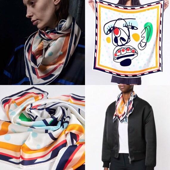 HENRIK VIBSKOV cheeky silk scarf
