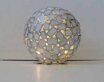 Stained Glass Mosaic Sphere