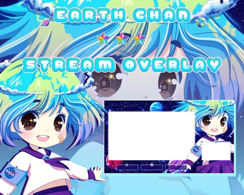 Anime Earth Chan