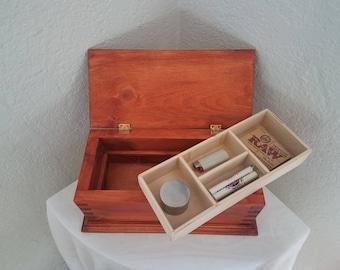 Handmade Wood Stash Box