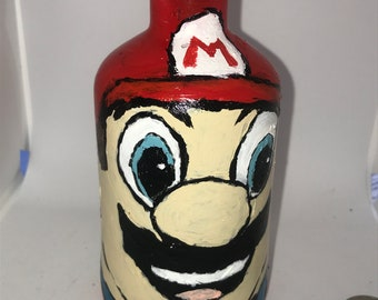 Mario Inspired Bottle