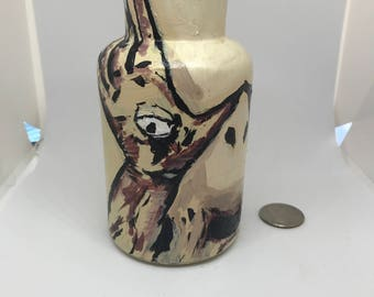 Pan's Labyrinth Pale Man Inspired Bottle