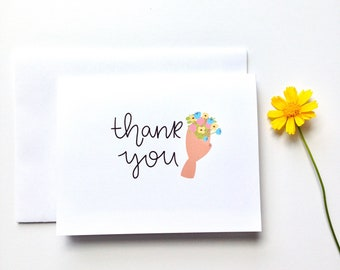 Thank You Cards | Set of 4