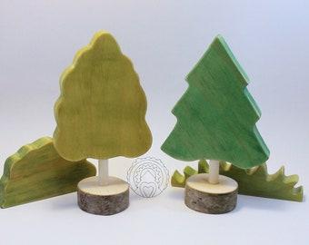 Wooden Tree Set for Wildflower Ponies
