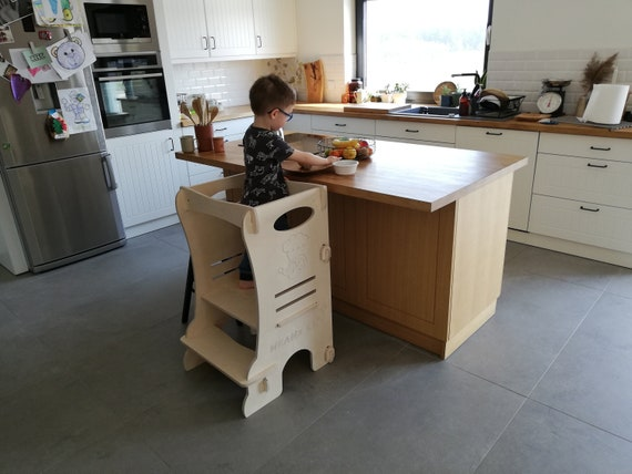 Awesome Learning Tower Kitchen Helper Learning Tower For Toddlers Toddler Tower Montessori Learning Tower Kitchen Helper Stool Activity Tower Caraccident5 Cool Chair Designs And Ideas Caraccident5Info
