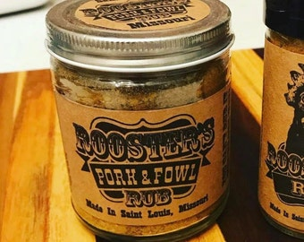 Rooster's Pork & Fowl Rub