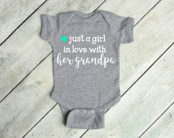 Baby Romper Im Going to Love Horses When I Grow Up Just Like My Pawpaw