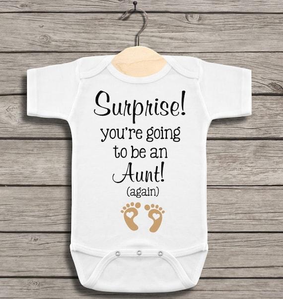 Best Christmas Present Ever Pregnancy Announcement Surprise Baby Vest Bodysuit 1