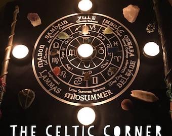 On sale!! Solstice Calendar Altar Cloth SC12118 (sale limited time only!)