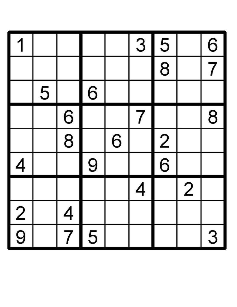 picture regarding Multi Sudoku Printable named Sudoku Prompt Obtain Printable Puzzle