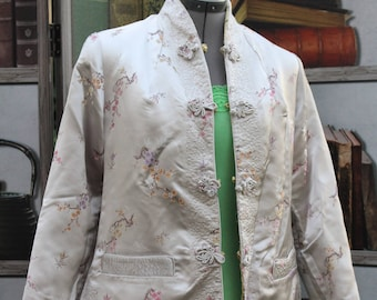 Vintage Chinese Brocade Jacket, Reversible
