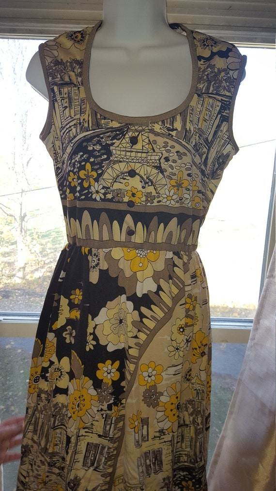 Vintage Paganne by Gene Berk Paris Dress.  Size 8