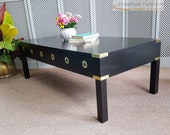 Gorgeous Black Coffee Table - Please see full listing for shipping fees
