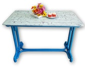 """Funky """"Imagination"""" table - please see full description for shipping fees"""