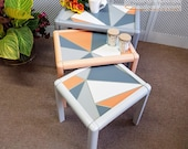 Cool trendy retro nest of tables - Please see full description for shipping fees