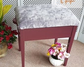 Stylish Piano Stool - Please see full listing for shipping fees