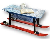 """Unique """"Ski"""" coffee table - Please see full description for shipping fees"""
