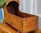 Antique Baby Crib (for ornamental use only) - Please see full description for shipping fees