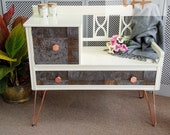 Lovely Modernised Telephone Table - Please see full listing for shipping fees