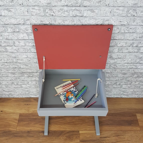 Professionally Spray Painted Children S Desk