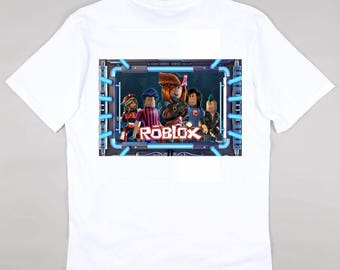 8f405e4a4ccf6 Game ROBLOX T Shirt Top Gaming New XBOX PS4 GAMER Adventures Gamers. Gamer  Gaming Funky Top - Christmas Gift