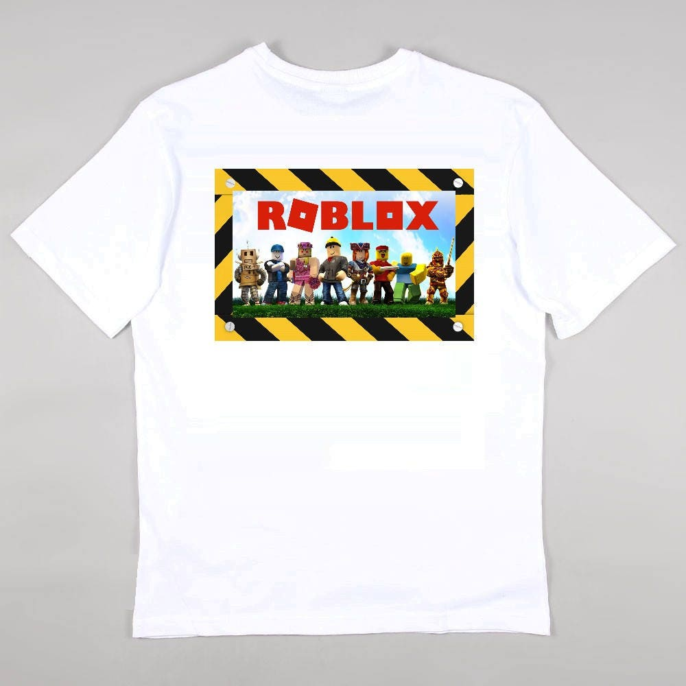 team roblox t shirt top gaming new xbox ps4 gamer
