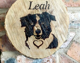Personalised Handmade Wooden Decorative Gift