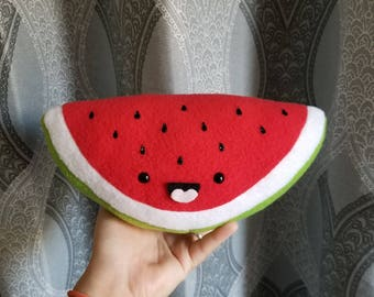 Kawaii Watermelon Plush