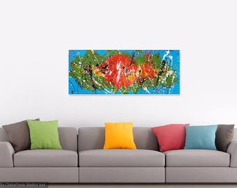 The Protozoa : Original contemporary Abstract Painting