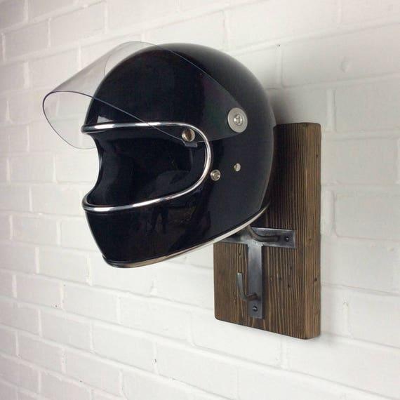 Motorcycle Helmet Storage Motorbike Jacket Hanger Biker
