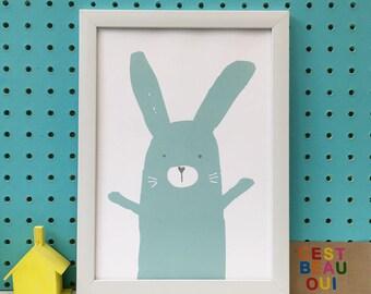 Baby Bunny Blue