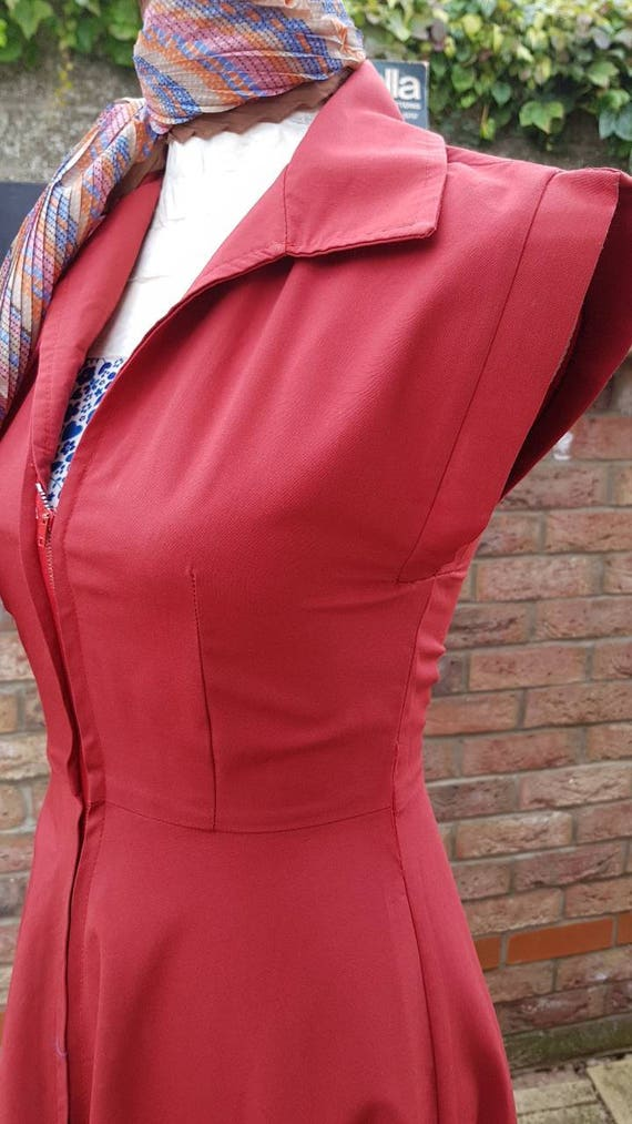 Vintage chelsea girl/london Rockabilly swing dress